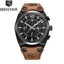 BENYAR Luxury Brand Chronograph Sport Mens Watches Fashion ...