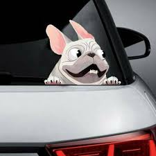 <b>3D</b> Funny Cartoon Dog <b>Pattern</b> Sun-proof Car Sticker Vehicle ...