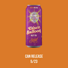 <b>Disco Balloon</b> Can Release | Second Chance Beer