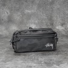 <b>Stüssy Stock Side Bag</b> Black   Footshop