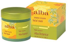 <b>Энзимная маска для</b> лица Papaya Enzyme Mask от Alba Botanica ...