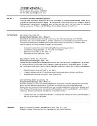 sample resume assistant manager resume administrative assistant bank resume sample a sample investment banking resume blog inside assistant manager fast food job resume