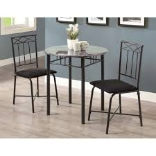 three piece dining set: monarch specialties inc  piece dining set