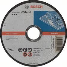 <b>Отрезной круг</b> по металлу <b>BOSCH</b> 125х1,6х22.2 мм A60T-BF ...