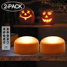HOME MOST 2-Pack Halloween Pumpkin Lights with ... - Amazon.com
