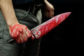Image result for murderer with knife