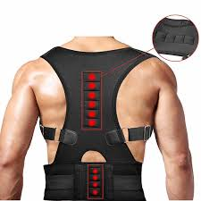 <b>Spine Posture Corrector</b> Magnet <b>Protection</b> Back Shoulder Belt for ...