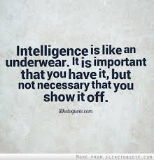 Intelligence Quotes via Relatably.com