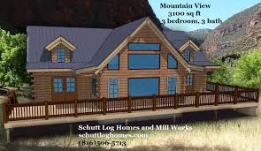 oak log cabins:  mountain view dig