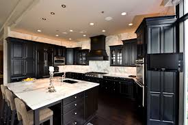 calacatta marble kitchen waterfall: kitchen calacatta bella marble countertops picture credit artisan counters the love of yin and yang no
