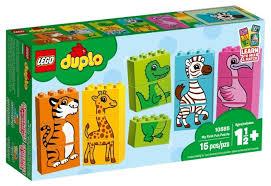 <b>Конструктор LEGO Duplo 10885</b> Мой первый пазл — купить по ...