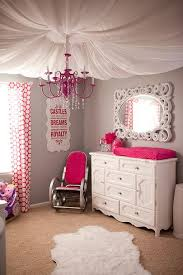 sometimes a girl has to get her pink on chandelier girls room