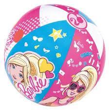 Мяч <b>надувной Bestway Barbie</b> 93201 BW — купить по выгодной ...