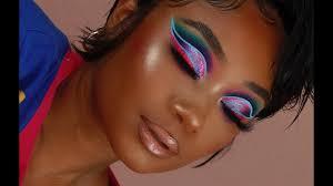 Pixie Cut + Ombre <b>Double</b> Cut Crease Makeup Look | Virgo <b>Hair</b> ...