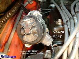 how to set ignition timing the above is for 8v only clock wise rotation firing order is 1 3 4 2 11pm is cylinder 1