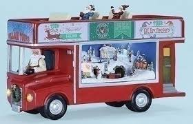 Roman 31067 725 <b>Double</b> Decker Bus with <b>Santa</b> -- More info could ...