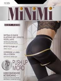 Купить Minimi <b>PUSH UP</b> 70 MICRO, <b>колготки</b> цвета carbone, nero ...
