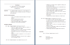 research associate resume   free layout  amp  formatresearch associate resume