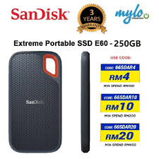 <b>SanDisk</b> Extreme Portable SSD <b>E60</b> 550MB/S USB 3.1 Gen 2 Hard ...