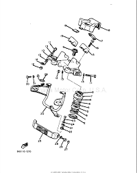 yamaha maxim xj550 motorcycle yamxj550hfs20 headlight mounting yamaha xj550 motorcycle steering parts diagram part numbers 20 22