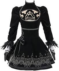 Yancos Halloween Cospaly <b>Costume</b> NieR:Automata <b>2B</b> Uniform ...