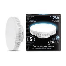 <b>Лампа Gauss LED GX70</b> 12W 1150lm AC150-265V 4100K ...