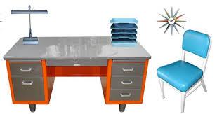 retro office furniture blue orange blog interior design amazing retro office chair