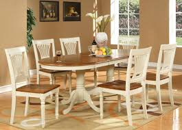 Dining Room Sets 6 Chairs Round Dining Room Table With Extension Room Tables Cottage White