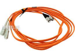 <b>Сетевой кабель VCOM Optical</b> Patch Cord FC-SC UPC Duplex 3m ...