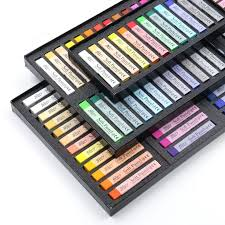12/24/36/48 Colors <b>New Arrival Soft</b> Pastels Non Toxic Drawing Set ...
