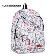 Online Shop RUNNINGTIGER <b>Backpack Women</b> Eiffel Tower ...