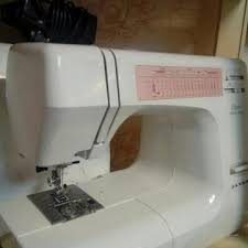 швейная машина merrylock 8350 белый синий