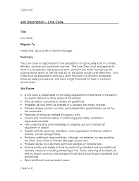 resume  resume for cook  dezume usexample resume cook position