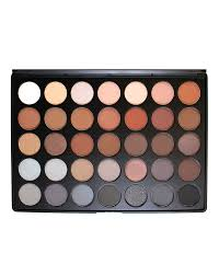 35 colour koffee eye shadow palette 35k bymorphe brushes