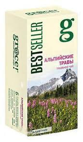 <b>Чай</b> Grace «Альпийские травы» <b>травяной</b>, 25х1.5 г - купить по ...