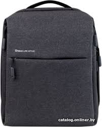 <b>Xiaomi Mi</b> Minimalist <b>Urban Backpack</b> (<b>черный</b>) рюкзак купить в ...