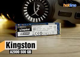 Видеообзор накопителя <b>Kingston A2000</b> 500 ГБ - ITC.ua