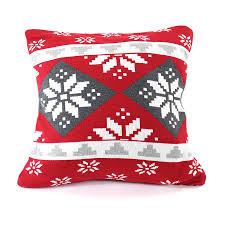 <b>Подушка с орнаментом</b> Christmas story, 45х45 см, <b>EnjoyMe</b>