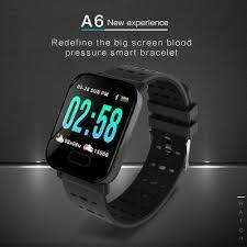 <b>IP67</b> Waterproof <b>A6 Smart Watch</b> Bluetooth For Android Samsung ...