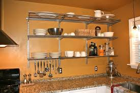 ideas wall shelf hooks:  exquisite design wall mounted kitchen shelf agreeable l shaped floating wall mounted kitchen shelves over laminate amazing ideas