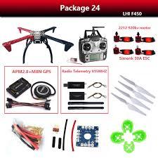 Quadrocopter RC drones <b>DIY LHI F450 Quadcopter</b> Kit APM2.8 ...