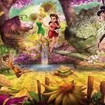Купить <b>фотообои Disney Fairies</b> Forest (3,68х1,27 м) недорого в ...