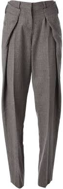 Maison Margiela origami tweed trousers | Мужские <b>брюки</b>, Мода ...