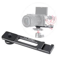ULANZI PT 5 <b>Vlogging</b> Microphone <b>Mount</b> Tripod <b>Adapter Bracket</b> ...