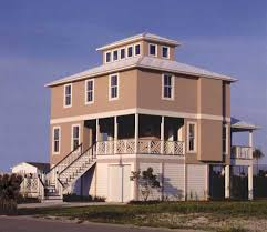 Pier Foundations   House Plans and Morebeach house plan   pier foundation