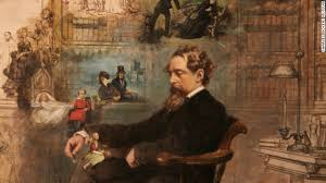 Image result for charles dickens portrait