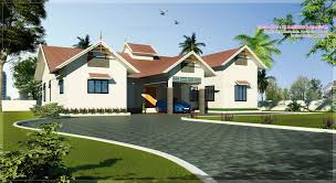 Single Floor House Designs   Kerala House PlannerSingle floor Kerala Home design at sq ft