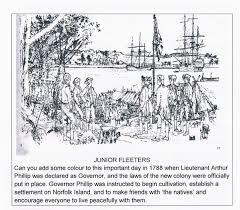 「1788 Arthur Phillip」の画像検索結果