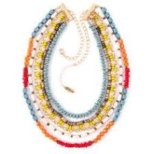 <b>Lola</b> Multi-<b>Colored</b> Seed <b>Bead</b> Necklace | Jewelry | <b>Beaded</b> ...