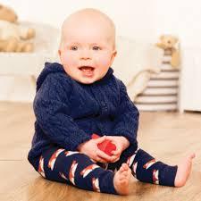 Navy Fox Extra <b>Thick Baby Leggings</b>   JoJo Maman Bebe